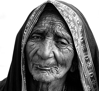 Face the Indian  Western India B_W