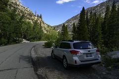 Parking the Subaru at Parchers