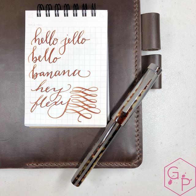 Unboxing Faggionato Petrarque Le Majestic Fountain Pen 1