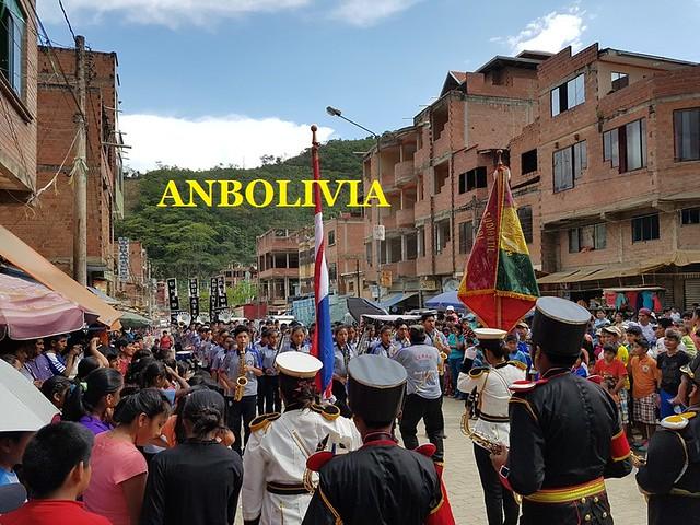 LOS COLEGIOS PEDRO DOMINGO MURILLO, VILLA LITORAL Y ADVENTISTA SE ENFRENTAN A UN DUELO DE BANDAS DE MÚSICA