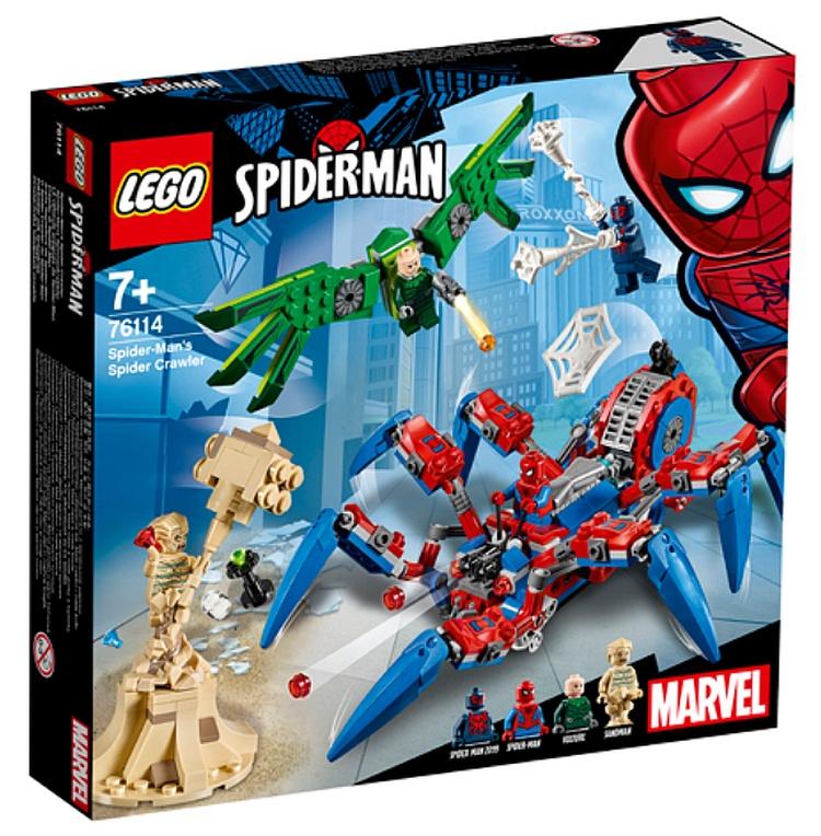 LEGO Spider-Man's Spider Crawler (76114)