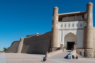 Festung Ark am Registan Buchara