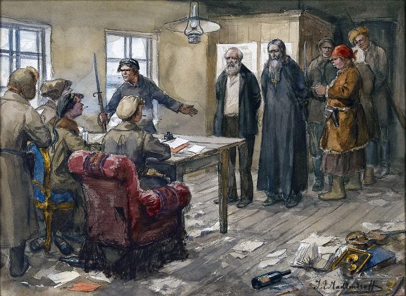 Революция и первые годы Советской власти на картинах Ивана Алексеевича Владимирова. Часть 2