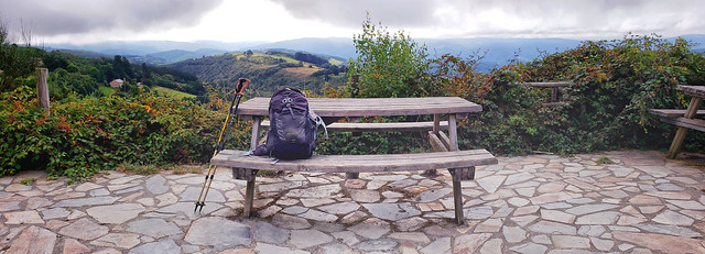 Photo:Taking a rest on the Camino Primitivo By Landscape and Travel
