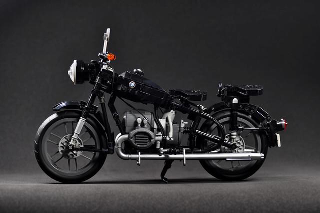 不只有超美的車體,細部結構更是驚人再現!! maximecheng03 樂高MOC 作品【BMW R60/2】拜託早日正式商品化吧~