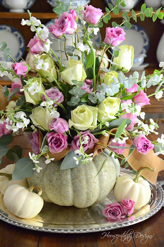 Pumpkin Centerpiece-Housepitality Designs-9