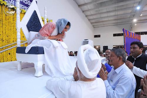 Welcome by Former Chief Minister Uttarakhand, Harish Rawat Ji