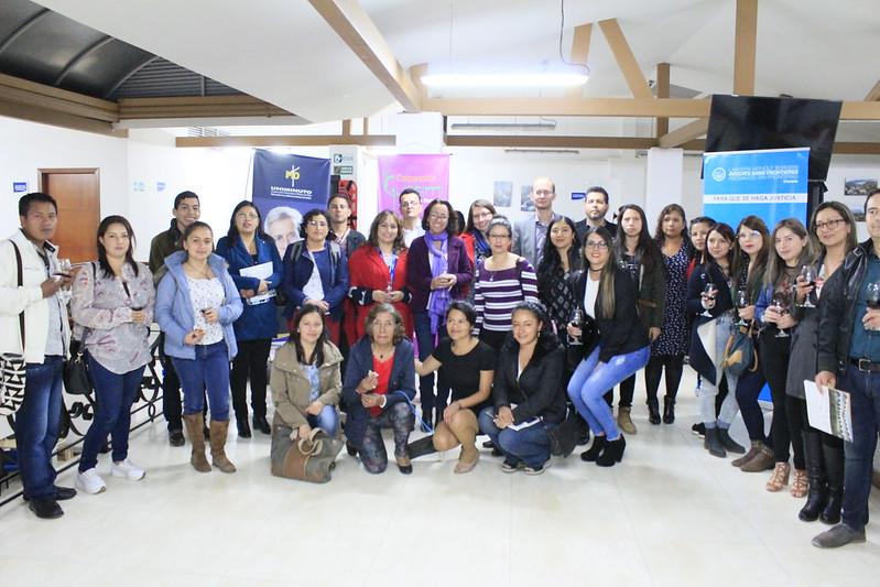Diplomado en Justicia Transicional y género en un contexto de desigualdades sociales