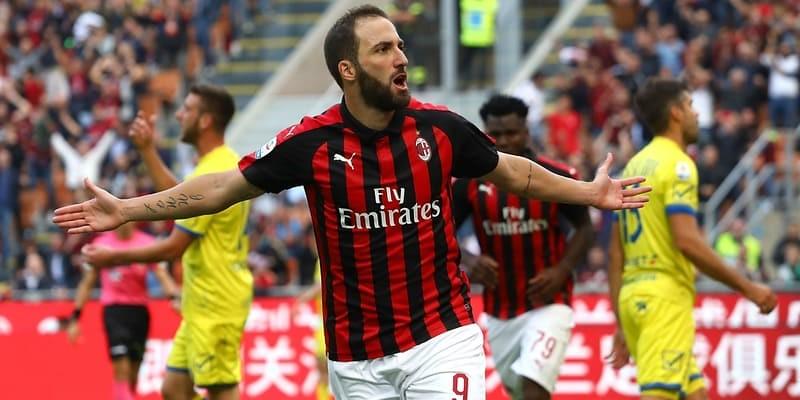 Jelang Derby Milan, AC Milan Bergantung Dengan Higuain