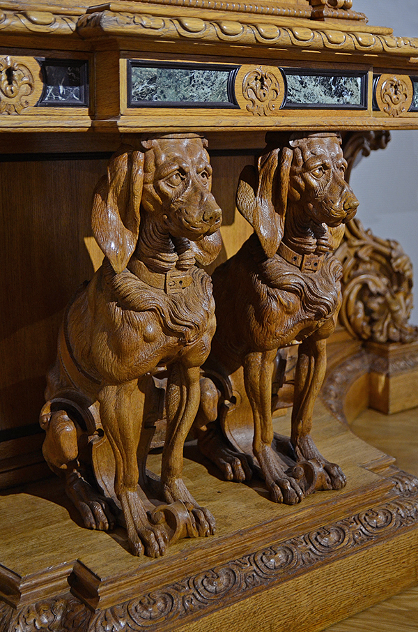 Hunting Style Sideboard 07