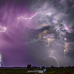 9. Juuni 2018 - 22:56 - June 9, 2018 - Kearney Nebraska US   Prints Available...Click Here All Images are also available for... stock photography & non exclusive licensing...  These are truly My Best Lightning Captures to date!  An epic night of sunset light and storm light @ twilight.  Its almost every storm chasers dreams... or at least, in my own opinion, to get along side of a storm like this, as its firing away some incredible CC & CG every few seconds.  What more could you ask for...  I was that Lucky Gut that evening.  Just mother nature and I.  Close to home after a few long storm chasing jaunts is just fine by me.  She was producing and I was capturing every incredible second of this storm..  No Forking Bolt went away that evening without me getting a snap of its presence.. lol  Enjoy this Nebraska Eye Candy!   #nebraskasc #storm #thunderstorm #kswx #kansas #landscape #nature #nature #photography #photographers #photographer  #mediabroker #weather #sky #darksky #severeweather #stormchasing #lightning   Like | Follow | Subscribe | #NebraskaSC @   | Facebook | YouTube | Twitter | Instagram | * Fine Arts America Exclusively for my High Quality Prints! * | Live Storm Chasing | Storm View Live | Storm View Live (FB) | |   SVLMedia, LLC | SVLMedia, LLC (FB) |