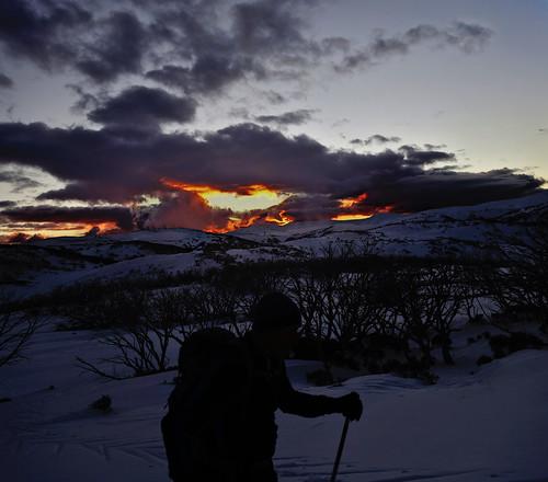 snow panorama hugin darktable hdr