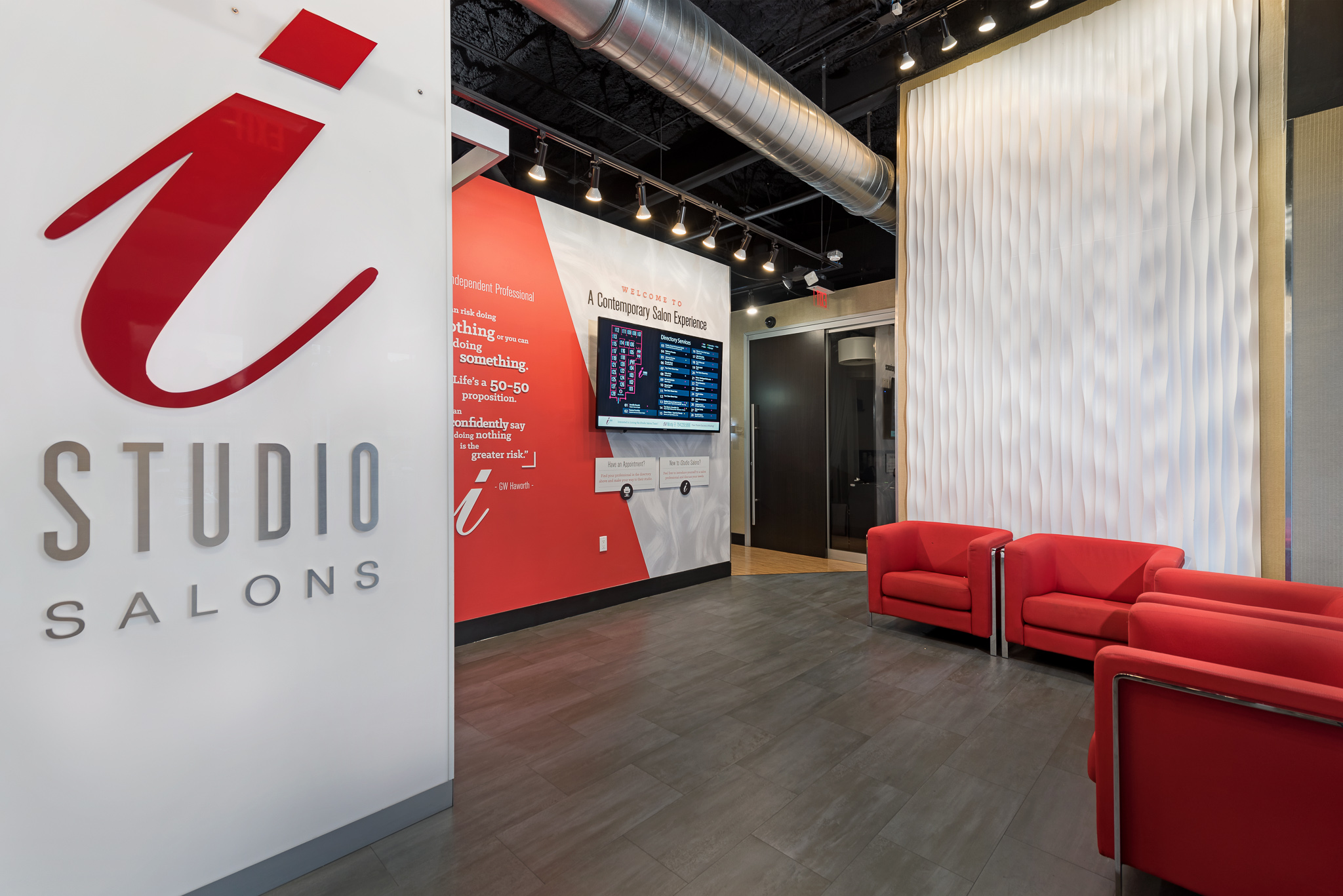 iStudio Salons Southport Fort Lauderdale Lobby