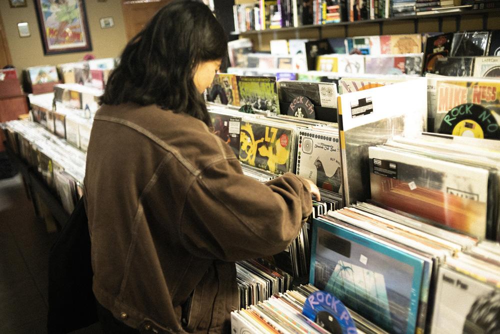 Record Shopping with Hana Vu