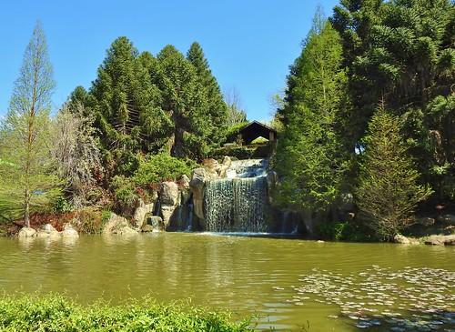 Waterfall At Hunter Valley Gardens