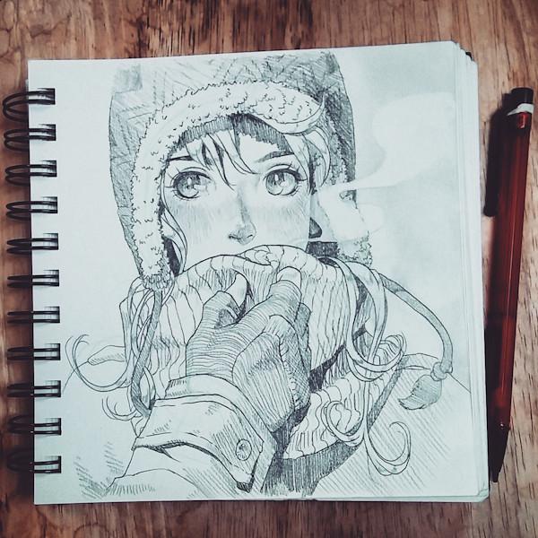 sketch 59: cold