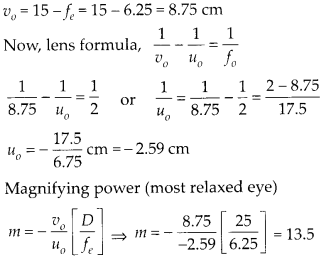 NCERT Solutions for Class 12 Physics Chapter 9 Ray Optics and Optical Instruments 23