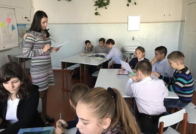 Урок англійської мови «В універмазі» в ЗОШ №31