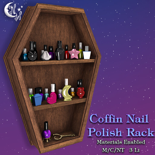 *NW* Coffin shelf – Brown
