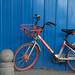 Beijing Bike On Blue