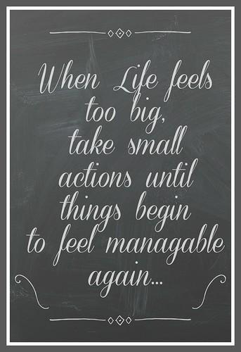 life feels too big 2