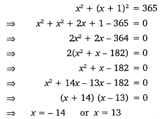 NCERT Solutions for Class 10 Maths Chapter 4 Quadratic Equations 9