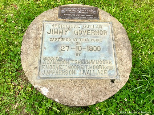 Australia's Last Outlaw - Jimmy Governor Captured here 27th October 1900 on Bobin Creek Road, Bobin, West of Wingham, NSW
