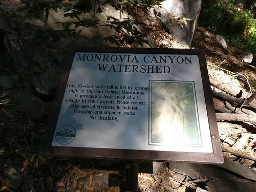 2018-9-30 Monrovia Canyon Falls