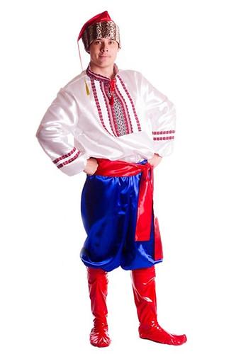 Мужской карнавальный костюм Украинский казак