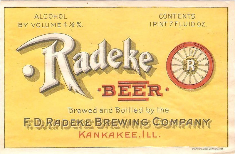 Radeke-beer-label