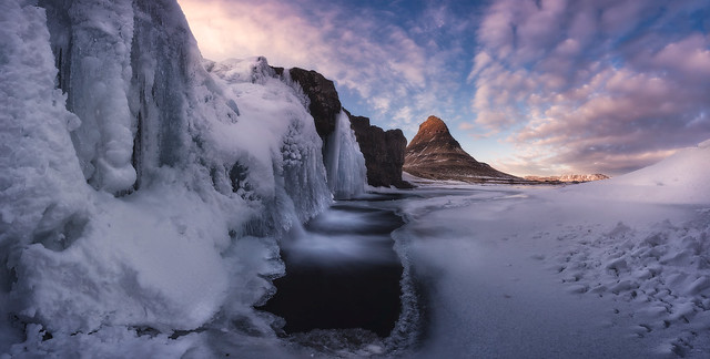 PA07 PA56 Juliocastro (Islandia) - Fuego e hielo - Tomada en Kirkjüfell, Islandia el 13-03-2018