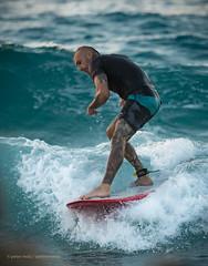 Ικαρία/Ikaria - Surfer at Mesakti beach (1)