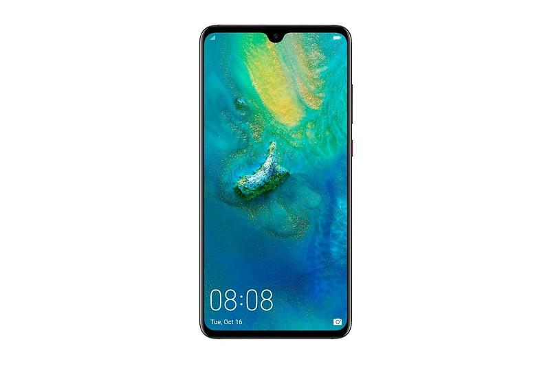 Huawei Mate 20 - Black - Front