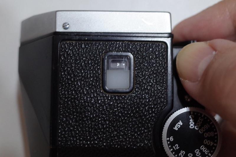 Nikon F フォトミックFTN電池チェック後