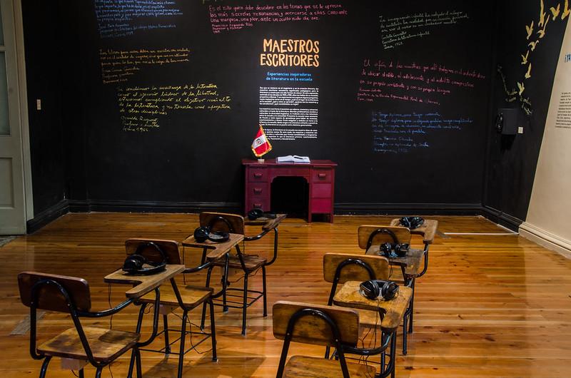 "Exposición ""Maestros escritores"""