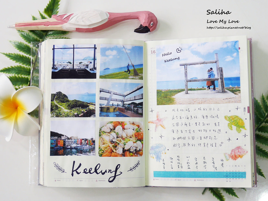 手帳裝飾日記紙膠帶裝飾技巧分享推薦 (19)