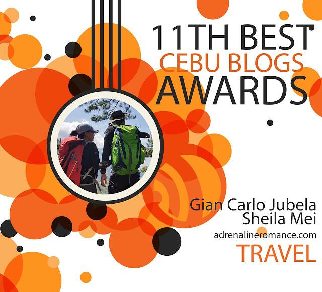 Best Cebu Travel Blog 2018 Finalist
