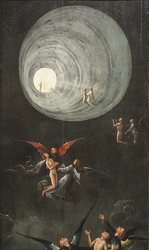Visions of Hereafter. Ascent into Heaven, Jheronimus Bosch