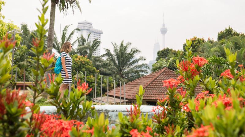 Orchid & Hibiscus Gardens, Kuala Lumpur, Malaysia