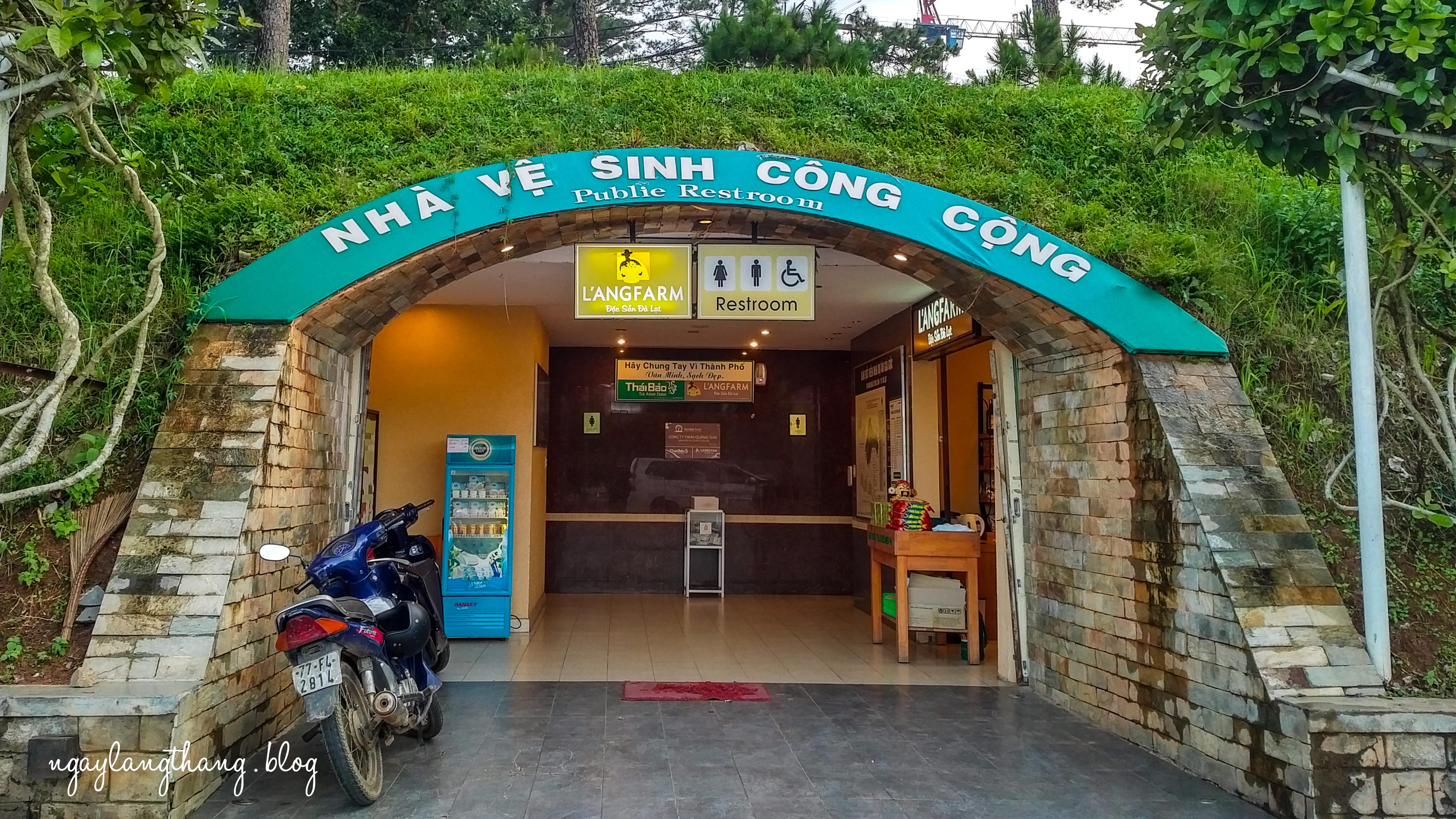 Lang Farm Puclic Restroom