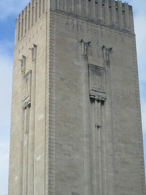 Tower, George's Dock Ventilation and Control Station, Liverpool