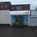 Free Heating UK Ltd - Pershore Road, Cotteridge - Painted shop shutter