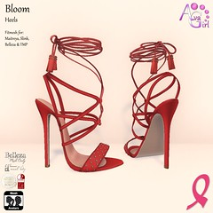 Bloom Heels - EXCLUSIVE for Out Shop Cancer Event