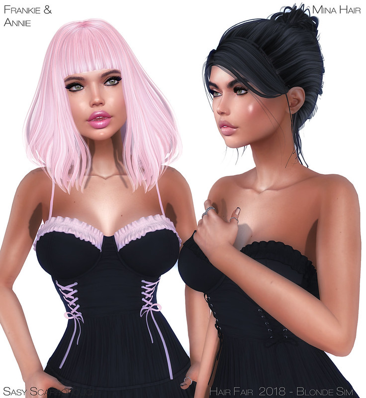 Hair Fair 2018 - Mina Hair - Frankie and Annie