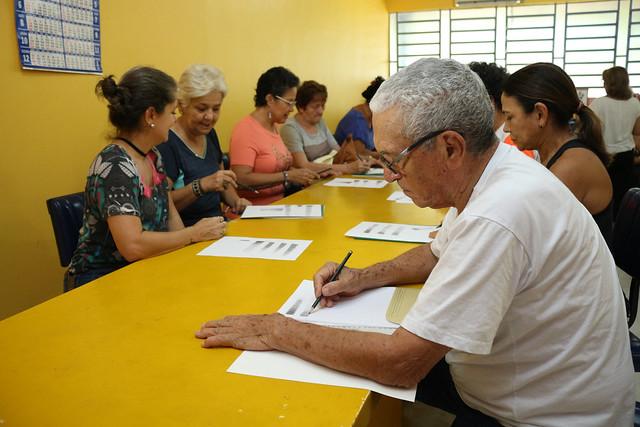 09.10.2018 Curso de desenho e pintura para idosos