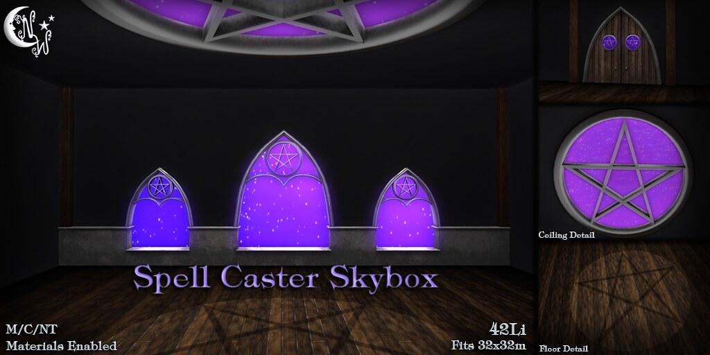 *NW* Spell Caster Skybox - TeleportHub.com Live!