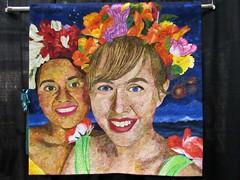 Samba Selfie quilt