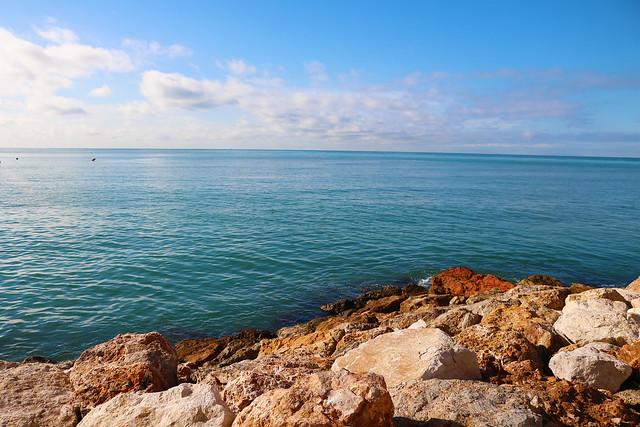 Rocks on coast