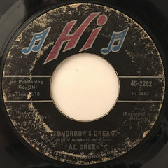 AL GREEN:LET'S STAY TOGETHER(LABEL SIDE-B)
