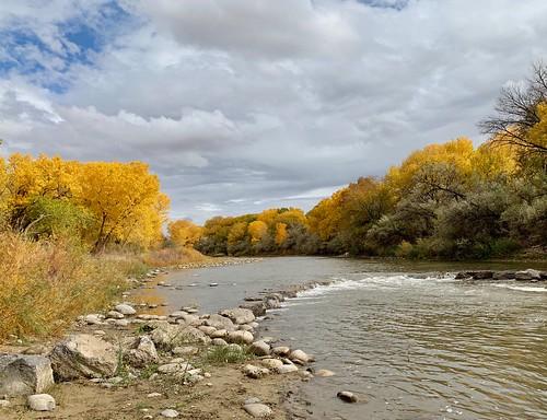Animas River in Farmington